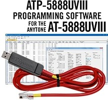 ATP-5888UV-III Programming Software and USB-A5R cable for the AnyTone AT-5888UV-III