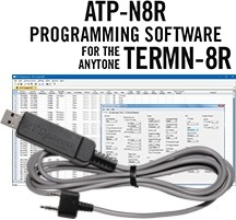 ATP-N8R Programming Software and USB-K4Y cable for the AnyTone TERMN-8R
