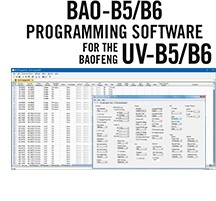 BAO-B5/B6 Programming Software Only for the Baofeng UV-B5 and UV-B6 HTs