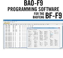 BAO-F9 Programming Software Only for the BaoFeng BF-F9