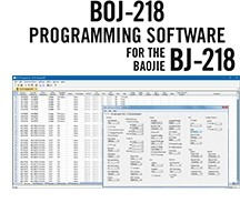 BOJ-218 Programming Software Only for the Baojie BJ-218
