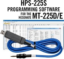 HPS-225S Programming System and USB-70 cable for the Hensenate MT-225D/225E