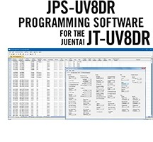JPS-UV8DR Programming Software Only for the Juentai JT-UV8DR