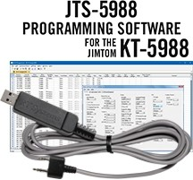 JTS-5988 Programming Software and USB-K4Y cable for the Jimtom KT-5988
