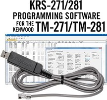 KRS-271 Programming Software and USB-K5D for the Kenwood TM-271/TM-281