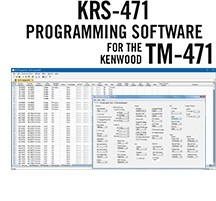 KRS-471 Programming Software Only for the Kenwood TM-471