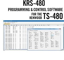 KRS-480 Programming\Control Software Only for the Kenwood TS-480