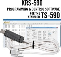 KRS-590 Software and RT-42 for the Kenwood TS-590S and TS-590SG