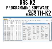 KRS-K2 Programming Software Only for the Kenwood TH-K2