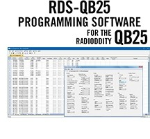 RDS-QB25 Programming Software Only for the Radioddity QB-25