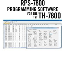 RPS-7800 Programming Software Only for the TYT TH-7800