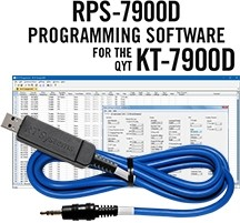 RPS-7900D Programming Software and USB-70 cable for the QYT KT-7900D