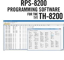 RPS-8200 Programming Software Only for the TYT TH-8200