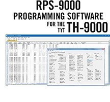 RPS-9000 Programming Software Only for the TYT TH-9000