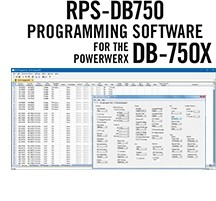 RPS-DB750 Programming Software only for the Powerwerx DB-750X