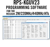 RPS-KGUV23 Programming Software Only for the Wouxun KG-UV2D/3D radios