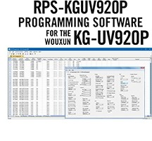 RPS-KGUV920P Programming Software Only for the Wouxun KG-920P