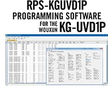 RPS-KGUVD1P Programming Software Only for the Wouxun KG-UVD1P