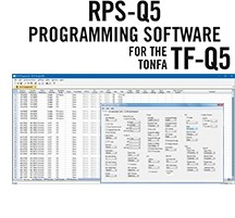 RPS-Q5 Programming Software Only for the Tonfa TF-Q5 Radio