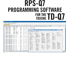 RPS-Q7 Programming Software Only for the TDXOne TD-Q7