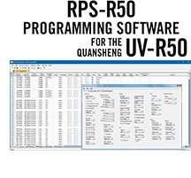 RPS-R50 Programming Software Only for the Quansheng UV-R50