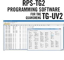 RPS-TG2 Programming Software Only for the Quansheng TG-UV2
