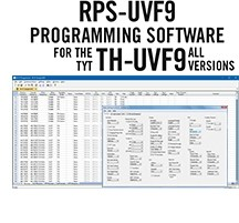 RPS-UVF9 Programming Software Only for the TYT TH-UVF9 and 9D radios