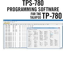 TPS-780 Programming Software Only for the TalkPod TP-780 radio.