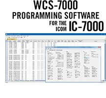 WCS-7000 Programming Software Only for the Icom IC-7000