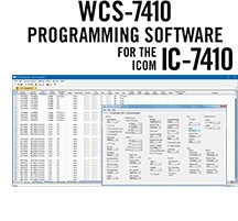 WCS-7410 Programming Software Only for the Icom IC-7410