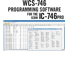 WCS-746 Programming Software Only for the Icom IC-746 and IC746Pro