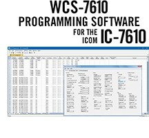 WCS-7610 Programming Software Only for the Icom IC-7610