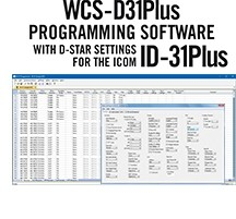 WCS-D31 Programming Software Only for Icom ID-31/31Plus