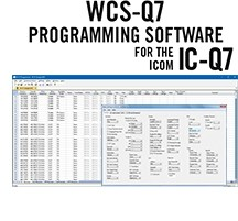 WCS-Q7 Programming Software Only for the Icom IC-Q7