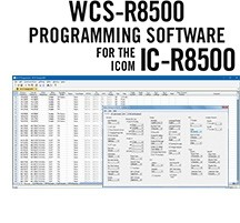 WCS-R8500 Programming Software Only for the Icom IC-R8500