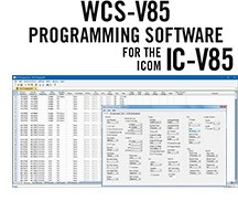 WCS-V85 Programming Software Only for the Icom IC-V85