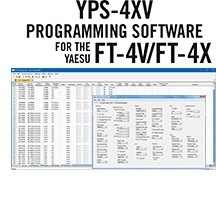 YPS-4XV Programming Software Only for the Yaesu FT-4X and FT-4V